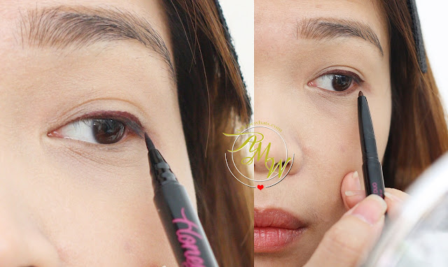 a photo on how to use Pink Sugar Honey, I'm Good Duo Eyeliner