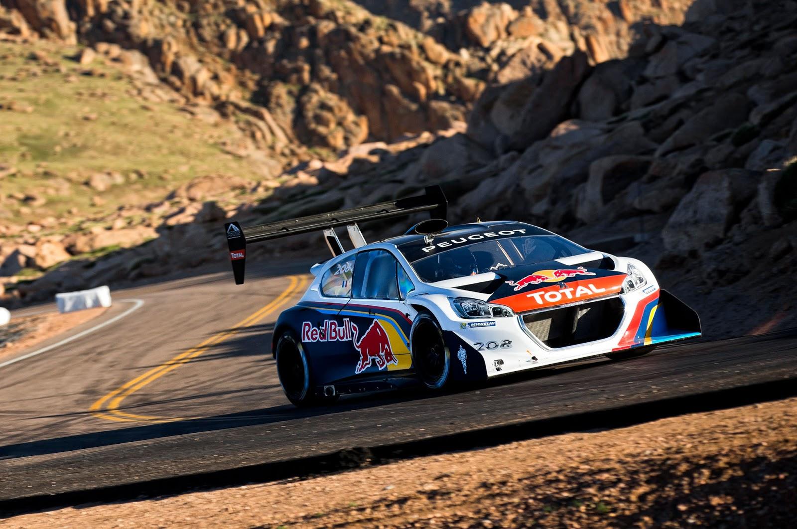 Nine Times World Rally Champion Sébastien Loeb Has Smashed The Record To Be Fastest Man Run Pikes Peak International Hill Climb
