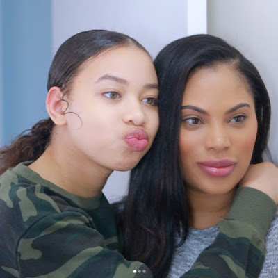 Msroshposh with her daughter