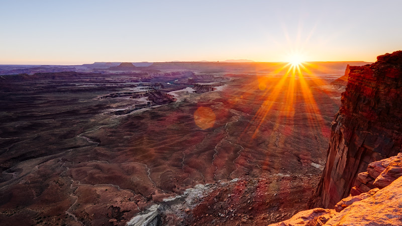 Hot view from Canyonlands National Park