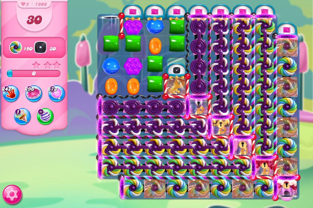 Candy Crush Saga level 7808