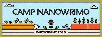 Camp NaNoWriMo {articipant 2016 - Amber the Blonde Writer