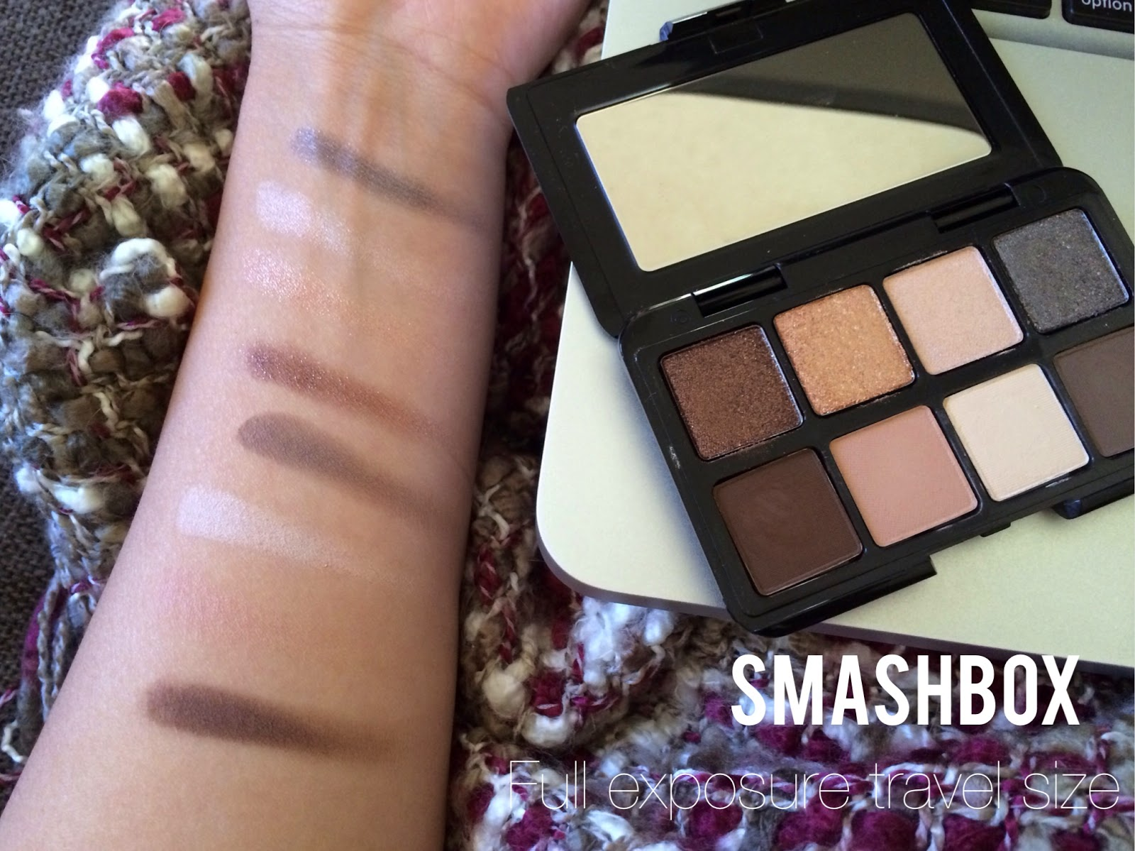 Land Of Everything Review Smashbox Full Exposure Travel Palette