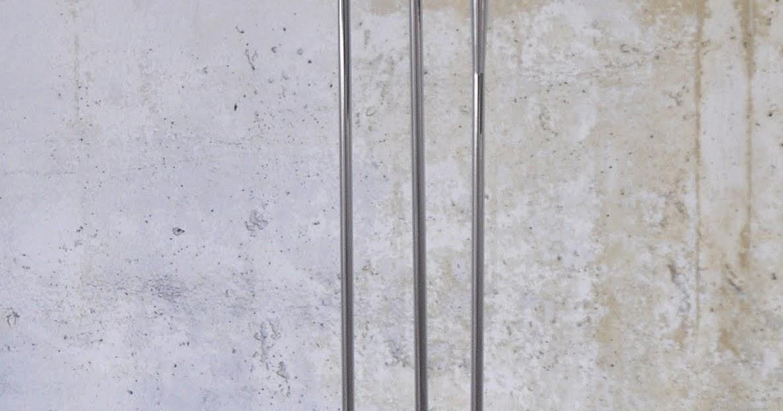 SELECT MODERN: Reggiani Chrome Trumpet Floor Lamp