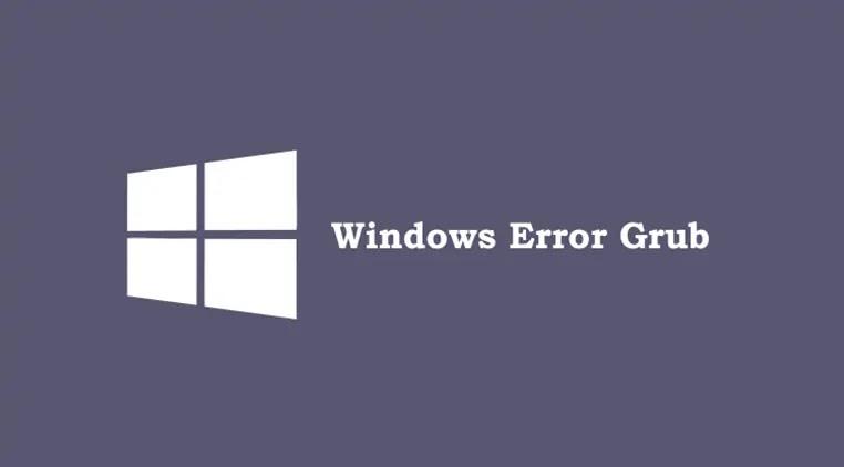 cara mudah Cara Mengatasi Error grub windows 7