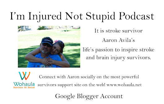 BREAKING NEWS! I'm injured not stupid Podcast launches blog.