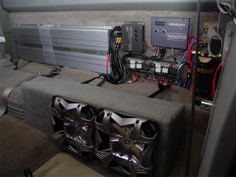 Car Audio Video  Custom Truck Audio System Photos