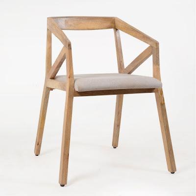Fauteuil en Bois Massif ArtiQ made-in-meubles.com