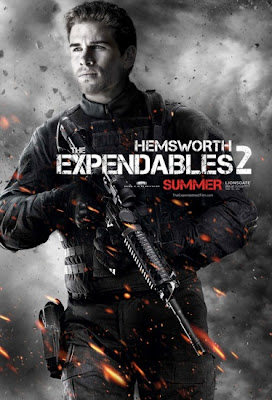 Liam Hemsworth The Expendables 2 2012