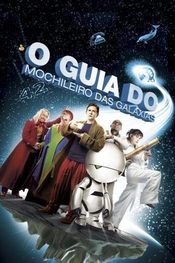 O Guia do Mochileiro das Galáxias Torrent – BluRay 720p/1080p Dual Áudio