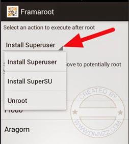 Framaroot 1.9.3 Apk - www.divaizz.com