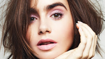 Lily Collins, Close-up, 4K, #4.2627