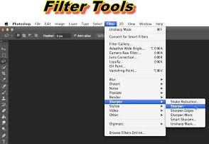 Filter Tool photoshop