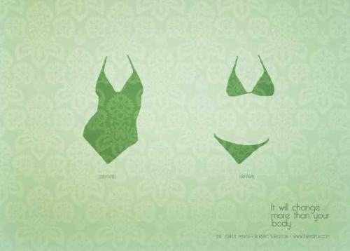 Печатная реклама клиники пластической хирургии