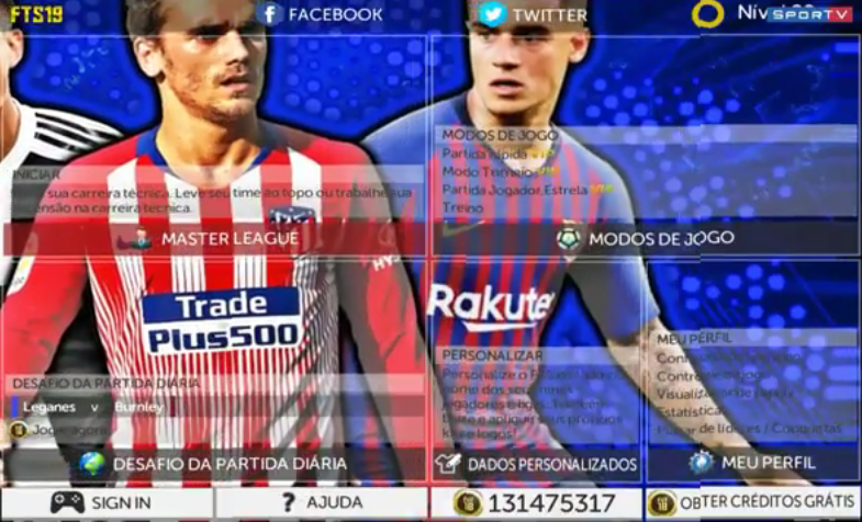 Download FTS 19 Mod New Transfers And New Face ~ Embuh Droid