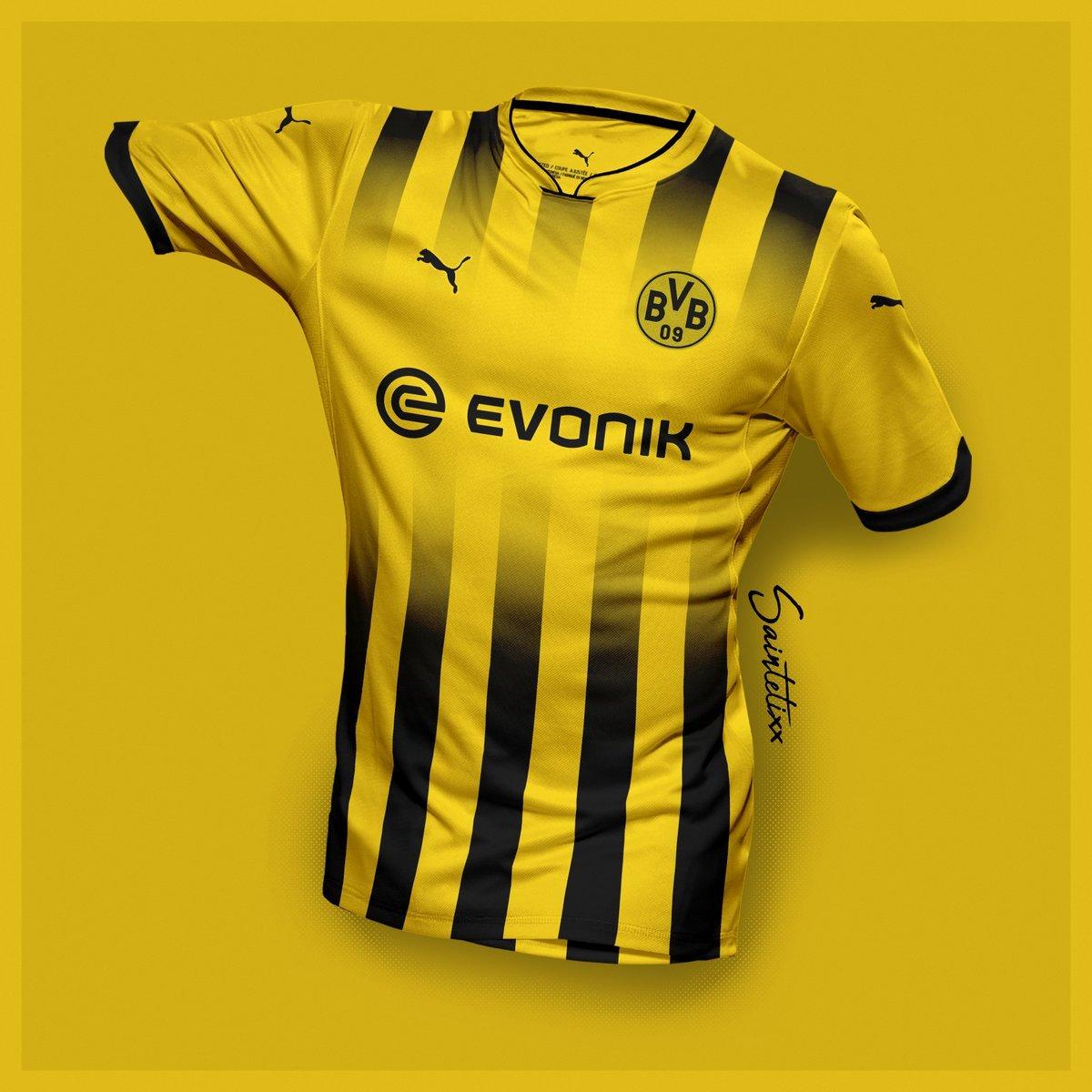 E se fosse assim - Borussia Dortmund (Alemanha) - Show de Camisas 5a4de465e98e4
