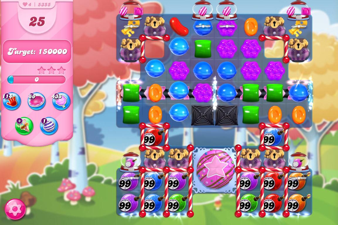 Candy Crush Saga level 5355
