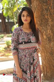 Actress Sunaina Latest Stills in Floral Dress at Pelliki Mundu Prema Katha Trailer Launch  0029.JPG