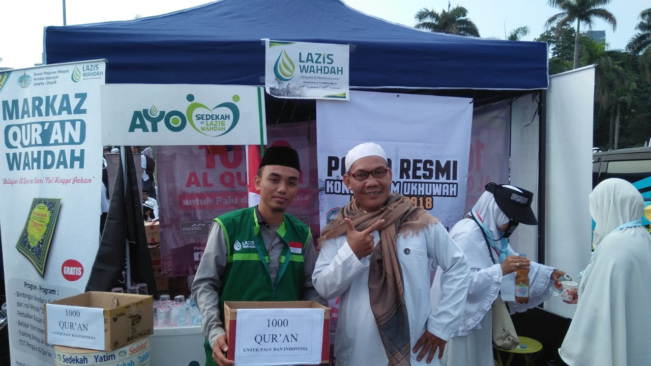 Layanan Donasi 1000 Quran LAZIS Wahdah