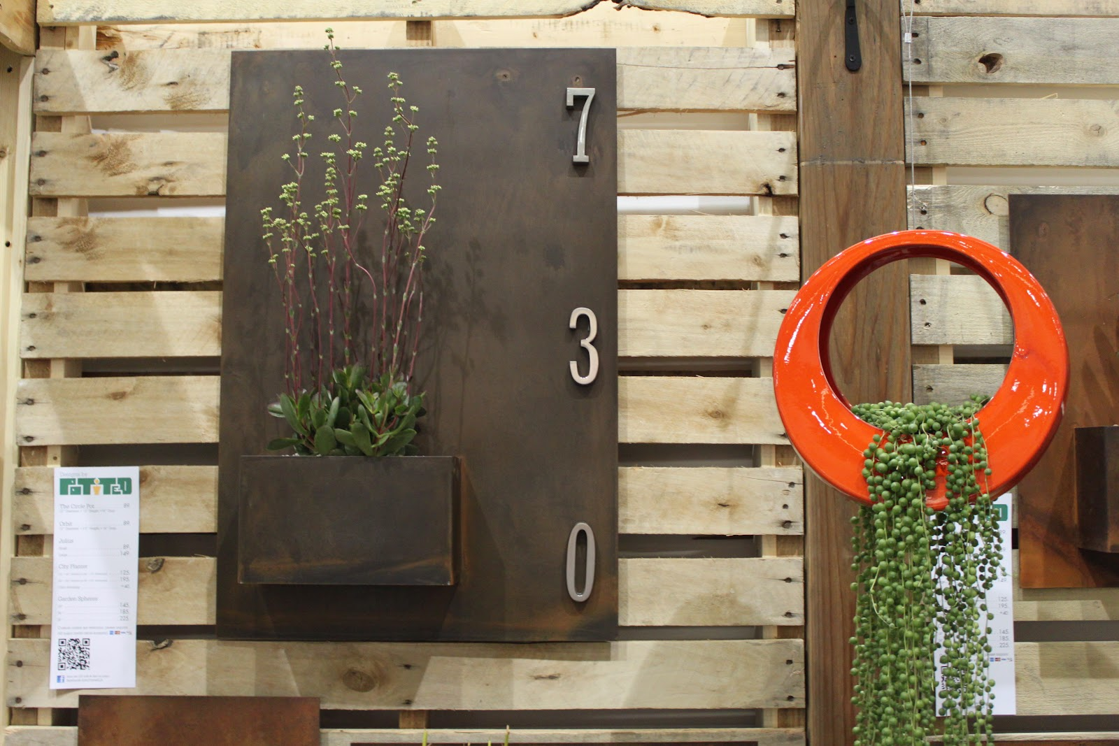 Dwell On Design Landscape Idea 2 Modern Wall Planters