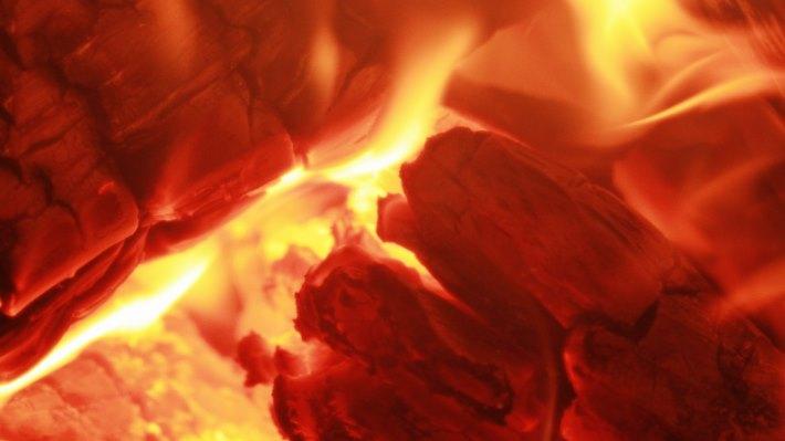 Wallpaper 2: Inside the Wood Fire