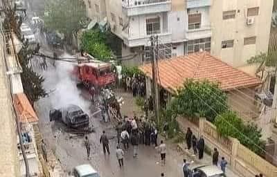 """استهداف ضابط في """" فتح الانتفاضة """" في بلدة قدسيا"""