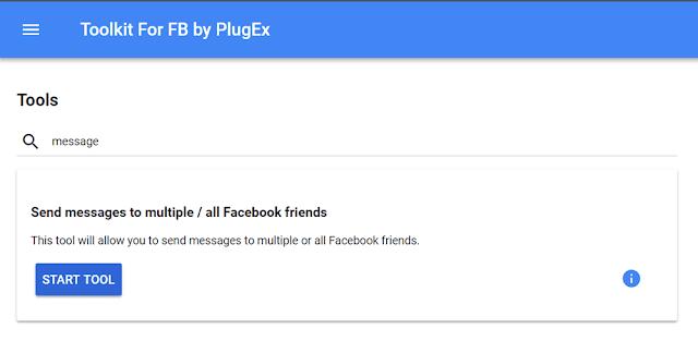 طريقة إرسال رسالة واحدة إلى جميع أصدقائك على الفيسبوك بضغطة زر وحدة