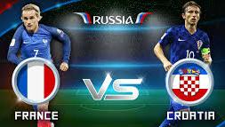 فرنسا تواجه كرواتيا في نهائي كأس العالم روسيا 2018