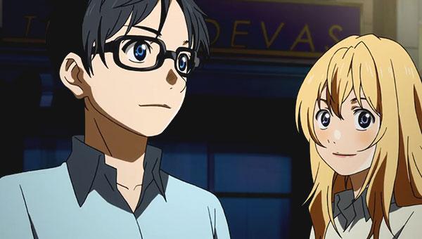 Shigatsu no kimi no uso - Anime terbaik dan populer yang dapat mengeluarkan air mata di mata orang-orang