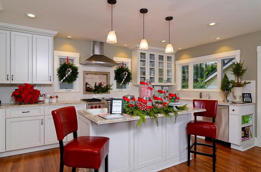 decoracao cozinha natal : decoracao cozinha natal: de ano, que tal estender esse espírito de Natal até a sua cozinha