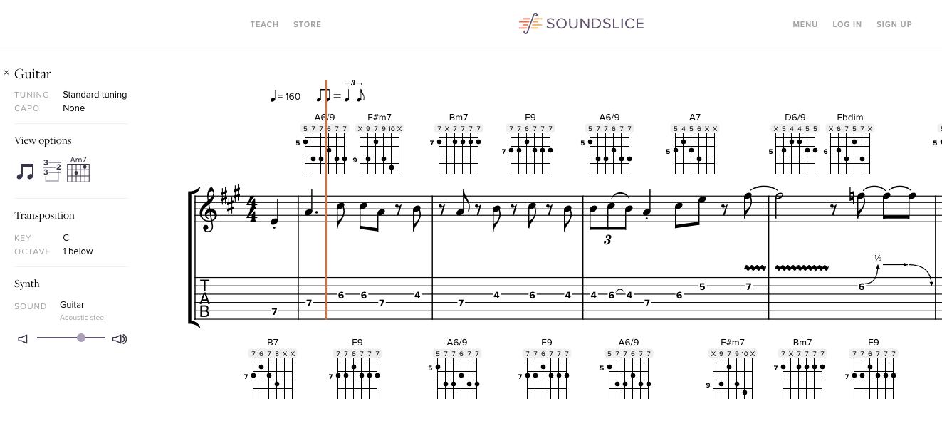 Soundslice Screen Shot