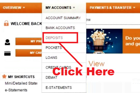 how to open fixed deposit account in icici bank