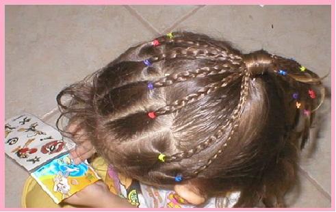Increibles Peinados Para Ninas Con Ligas Y Cintas Faciles De Hacer