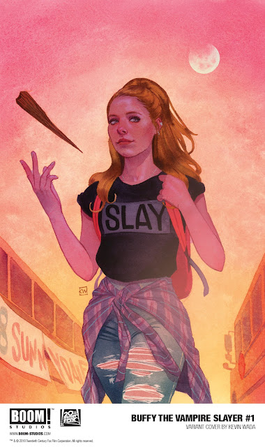 BUFFY THE  VAMPIRE SLAYER boom studios