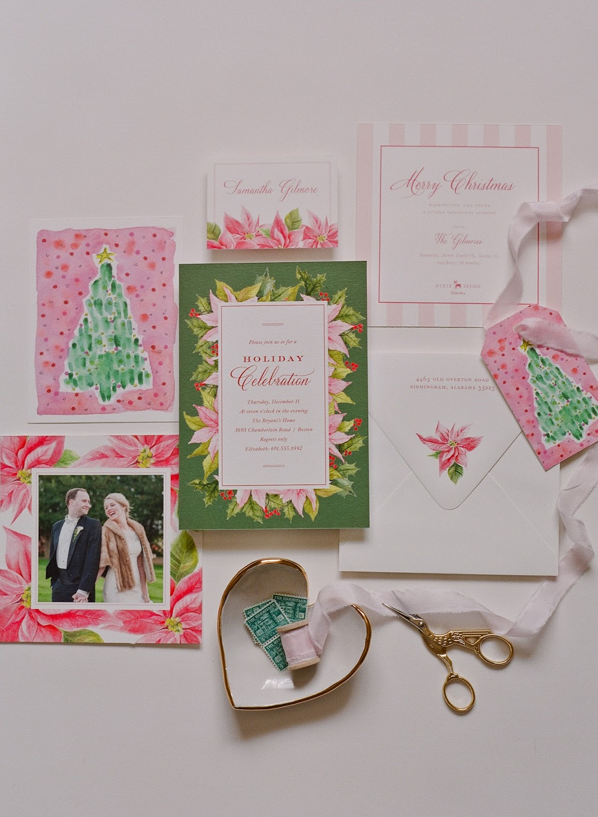 Holiday Card Perfection From Dixie Design Collective The