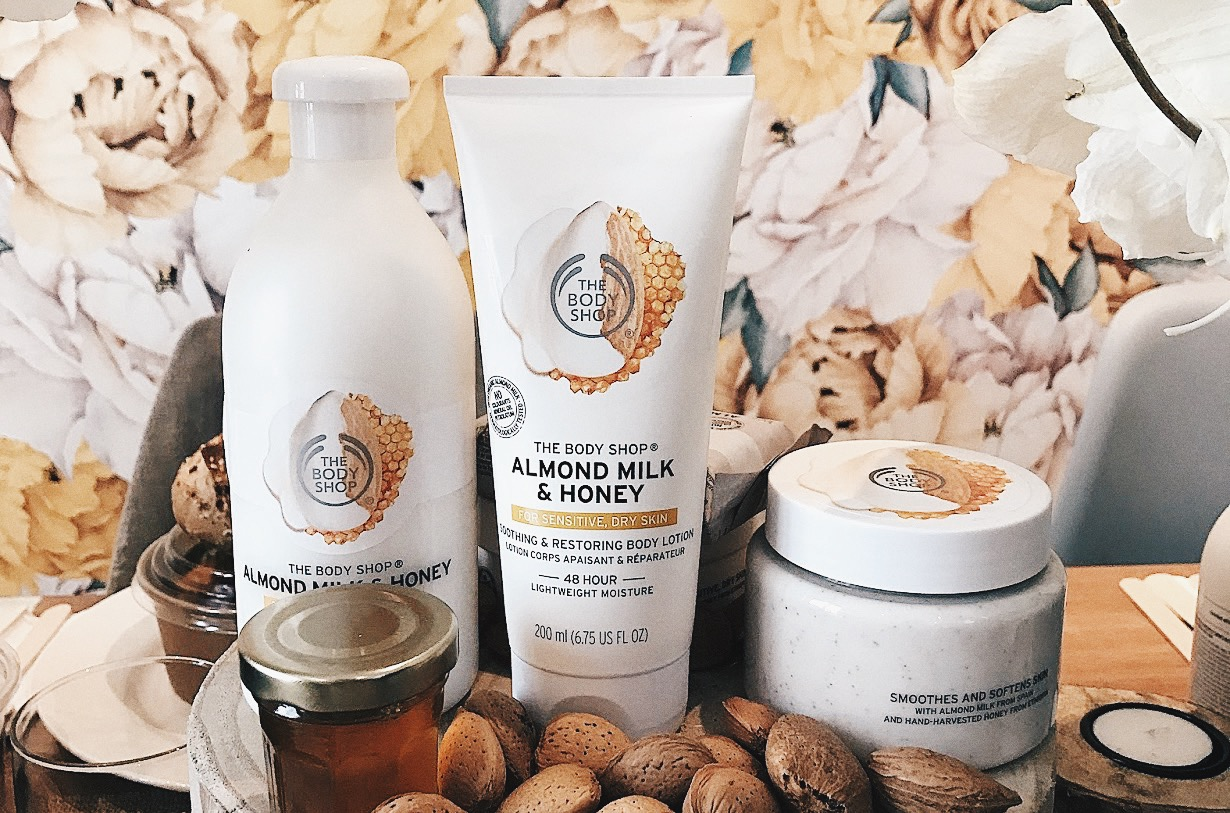the body shop almond milk & honey avis test