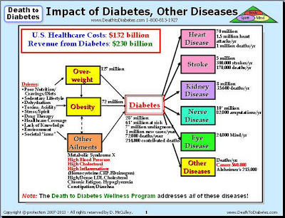 Death to Obesity Program reverses diabetes and other diseases.
