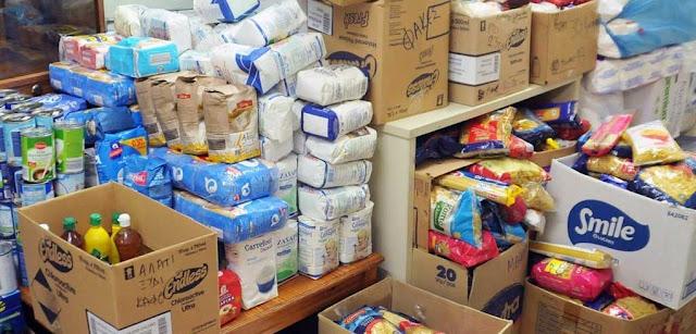 Ήγουμενίτσα: Διανομή τροφίμων