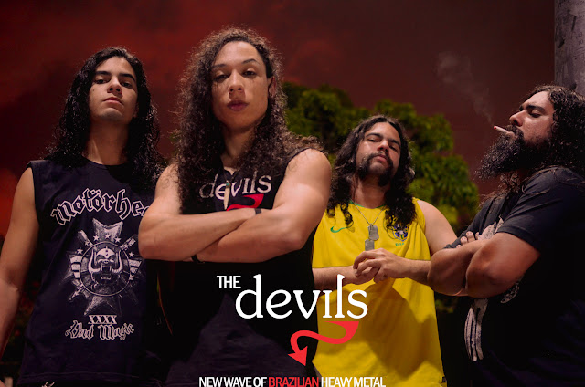 "The Devils: assista agora a performance da banda no DVD ""ES Underground"" F"