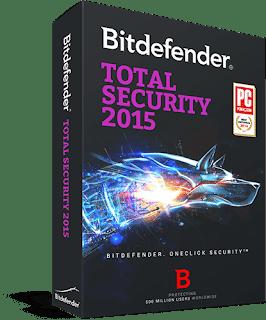 Bitdefender Total Security 2015 License key ,Crack Download