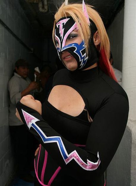 Chik Tormenta - Luchadoras Mexicanas