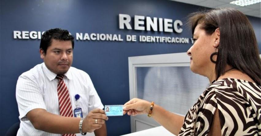 RENIEC: Residentes de 20 nuevos distritos obtendrán su DNI gratis hasta el 31 de marzo - www.reniec.gob.pe
