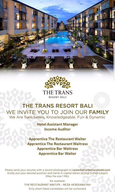 hotel jobs, hotel vacancy, loker hotel
