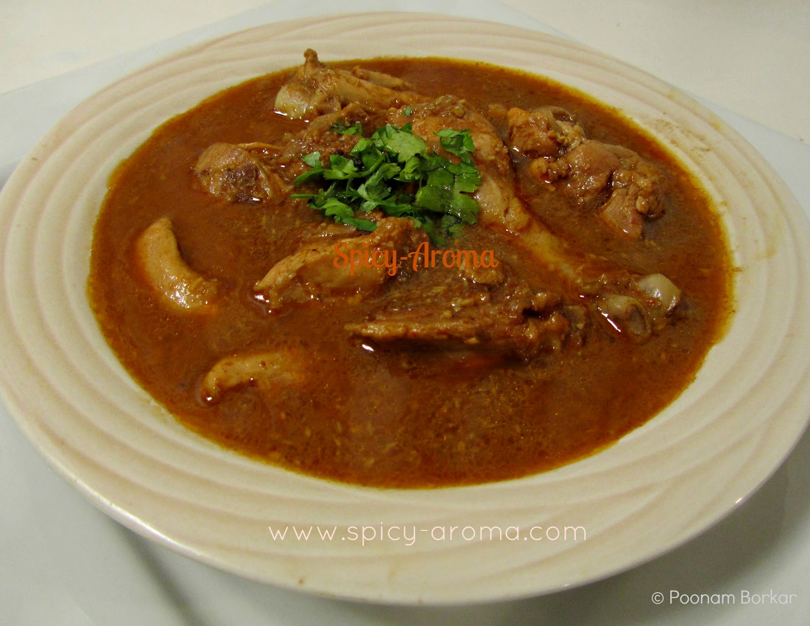 Goan Chicken Curry Recipe Spicy Aroma