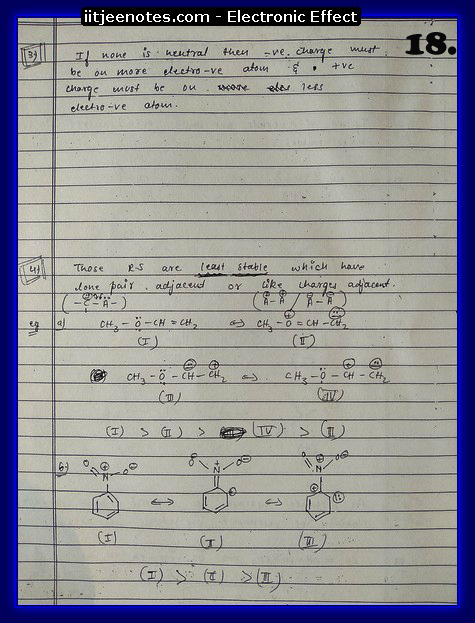 Electronic Effect Notes3