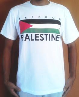 Kaos Palestina Bendera