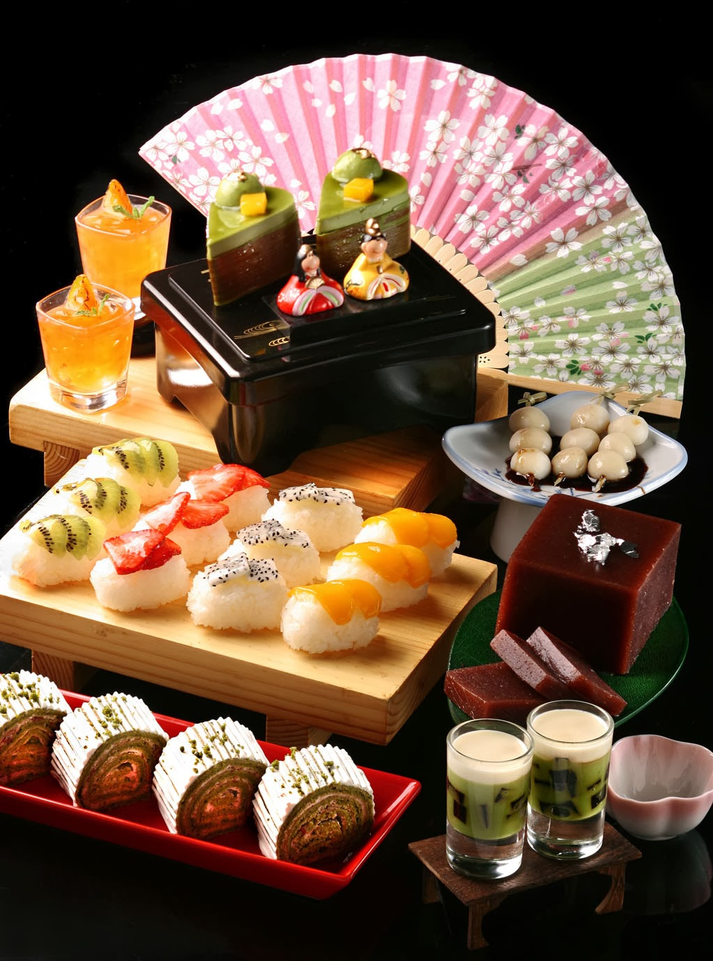 JAPANESE X KOREAN AFTERNOON TEA BUFFET AT CAF ALLEGRO OF REGAL KOWLOON HOTEL  Malaysian Foodie