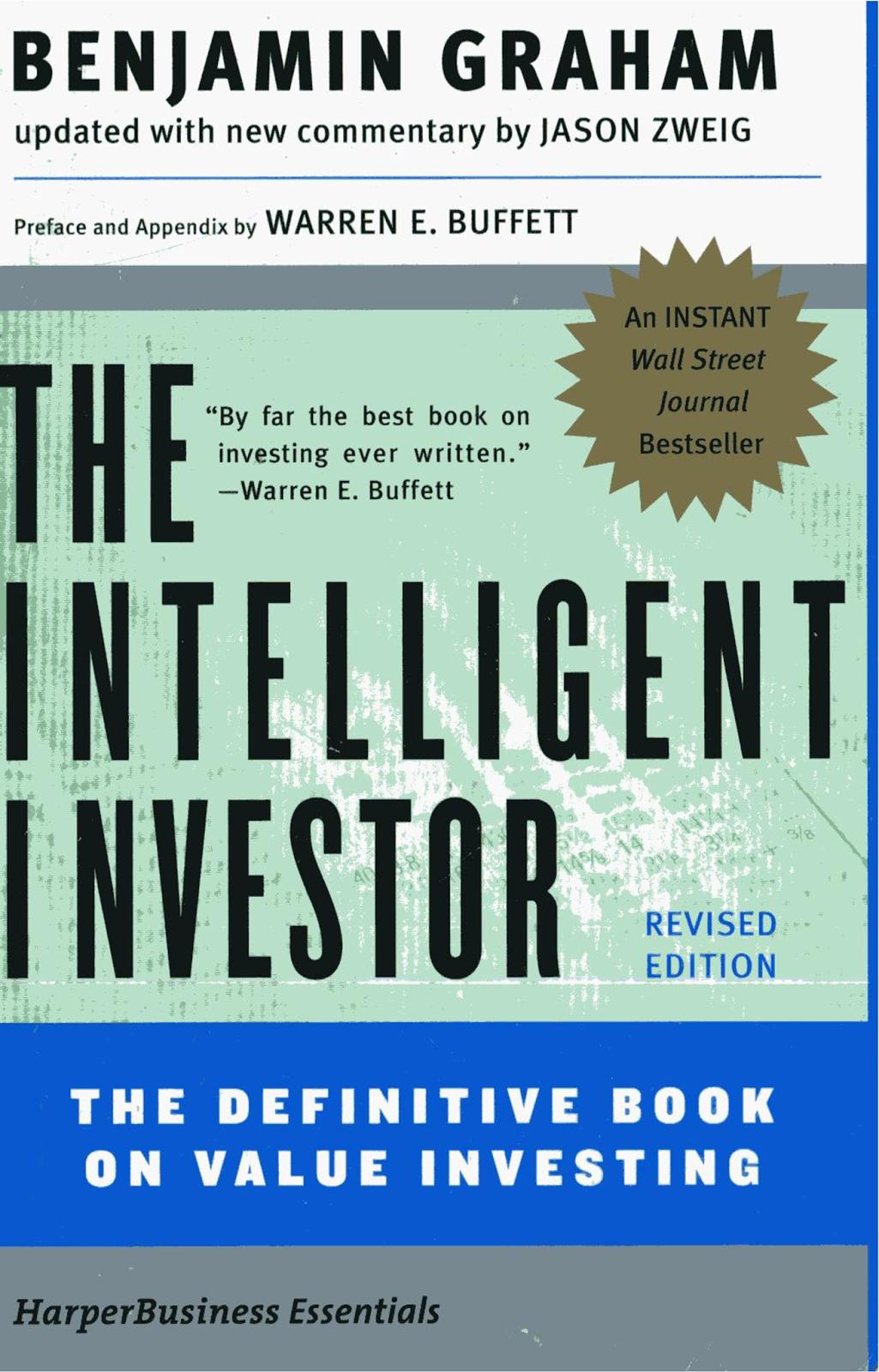 Si por causalidad un da librepensamiento 2013 benjamin graham the intelligent investor the definitive book on value investing from rhoda nchogu fandeluxe Image collections