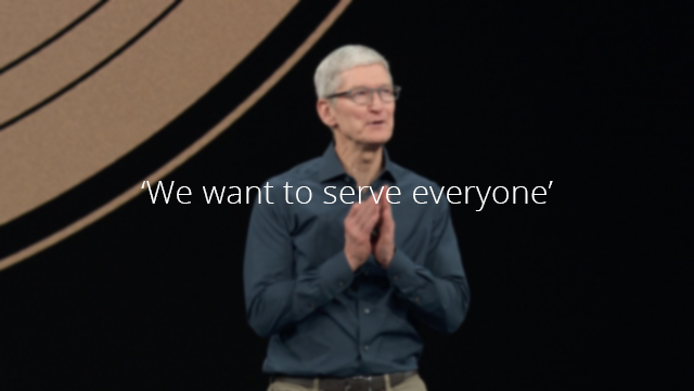 Tim Cook about iPhone Pricing: 'We Want to serve everyone""
