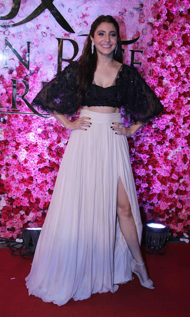 Anushka sharma khan at Lux golden rose Awards